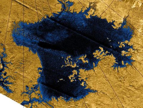 土星の衛星『タイタン』に存在するメタンの海