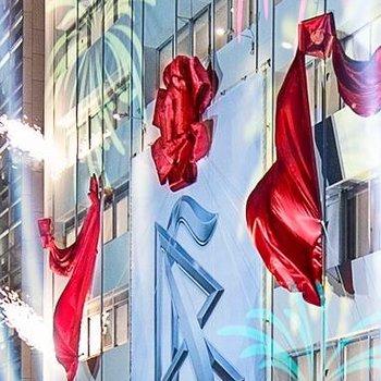 Scientology-Tokyo-Opening_Ribbon-Pull-1JB1857