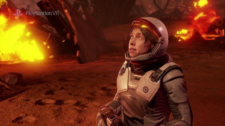 PS VR用FPS『Farpoint』予告編。クリーチャーのうごめく星を生き残れるか?