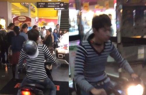 ゲーセン店内でバイクを乗り回したバカ高校生逮捕!「のりで乗りました」
