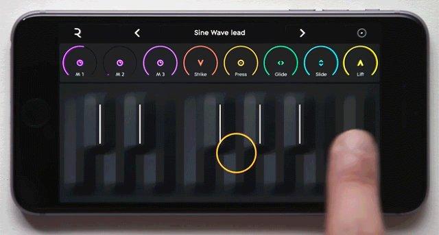 あの新感覚の音楽をもっと身近に。RoliのキーボードがiPhoneアプリで登場!