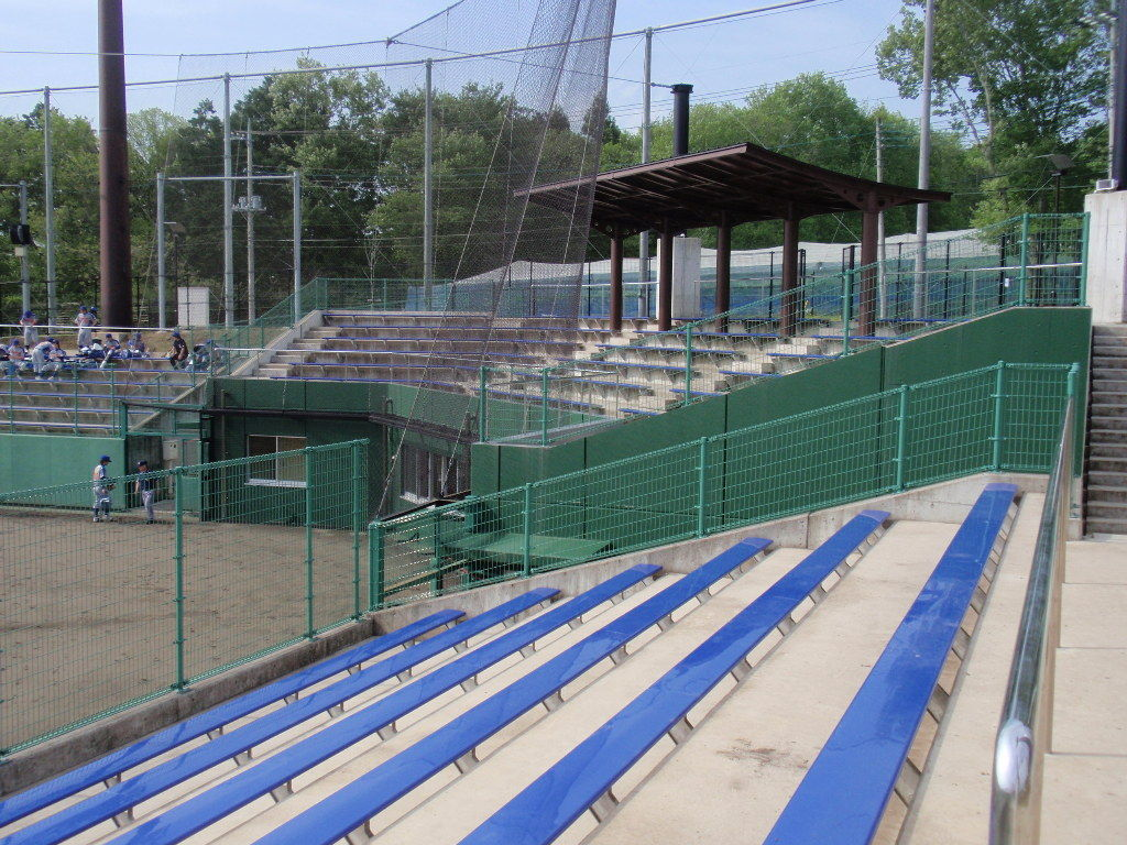益子町北運動公園野球場 : 野球場巡り