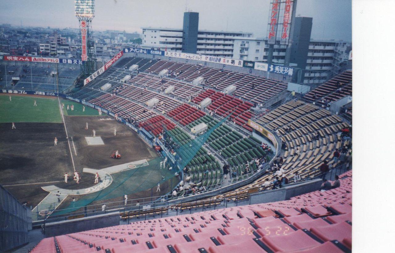 ナゴヤ球場 : 野球場巡り