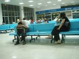 夜中2時の空港