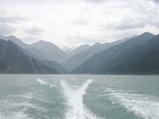 ボートからの風景