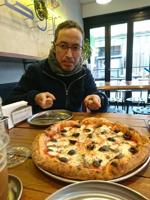 青木さんピザ