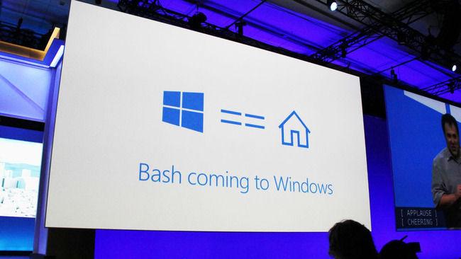 【朗報】 Windows10がBashに公式対応 Ubuntu Linuxのコマンドラインツールがそのまま動作可能に