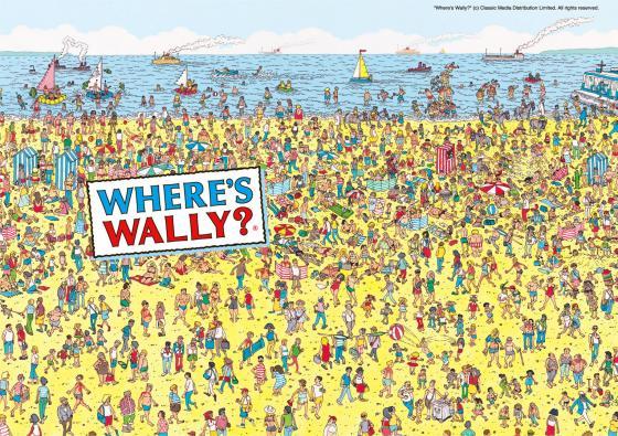 ウォーリーを探せにkbtitがおる