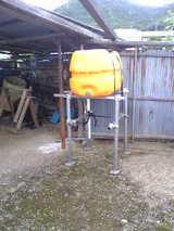 200リッター水タンク