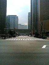 都庁前の通り