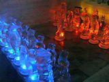 氷の彫刻(チェス)