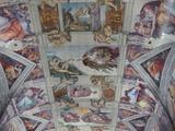 システィーナ礼拝堂の天井