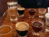 地ビールの呑み比べセット