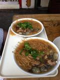 牡蠣とホルモンの麺線