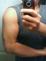トレーニング3年目の腕