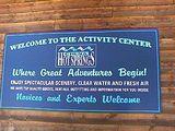 Activity Centerの看板