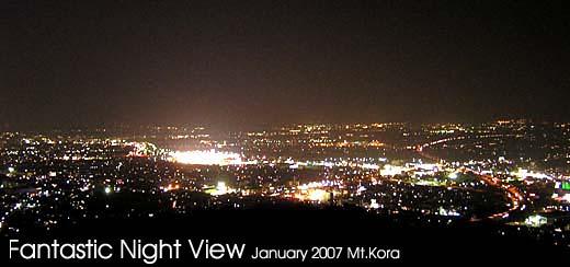 高良山夜景