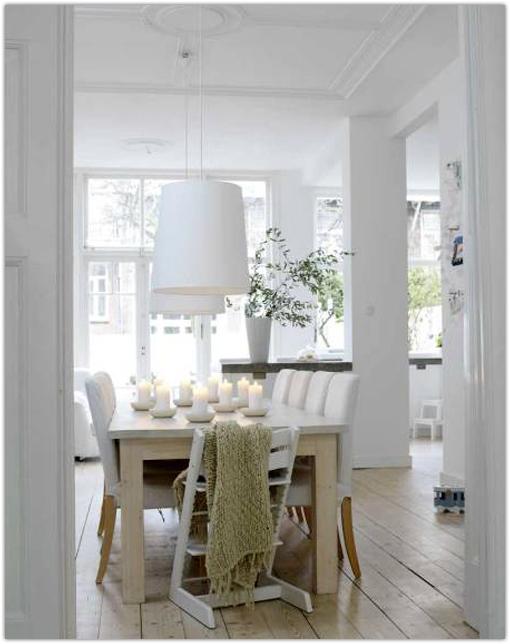 - Casas decoradas en blanco ...