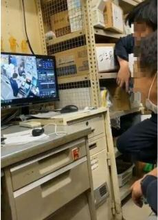 ファミマ店員が店のモニターで「のぞき行為」大阪