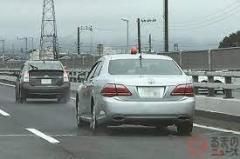 覆面パトを運転中、スピード違反で青切符…交通安全運動期間中に取り締まり 山梨