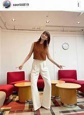 木村沙織さん、高身長女性向けパンツを履いた姿にファン衝撃「なんちゅう足の長さよ…」
