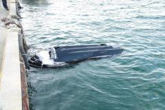 【速報】水上バイク事故で男女3人が死亡 単独で岸壁に衝突か 現場には傷がついた3人乗りの水上バイク 兵庫・淡路市