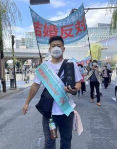 結婚反対デモ決行のユーチューバー・京氏を直撃「眞子さまのために声をあげていきたい」