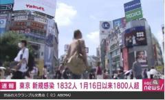 東京都で新たに1832人の感染確認、半年ぶりに1800人超 20代577人、30代410人