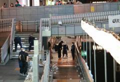 大阪・道頓堀川で暴行後突き落としか、男性死亡