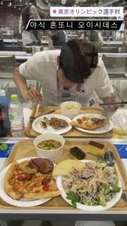 韓国選手の選手村での食事画像が流出して大波紋 「自国民に申し訳ないと思わないのか」