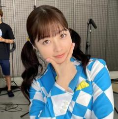 """橋本環奈、美少女ツインテール姿が新鮮。""""奇跡の一枚""""再び!"""