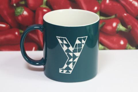 オリジナルギフト 名入れマグカップ キッズ 子供 イニシャル
