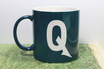 男性用ギフト フォントが選べるイニシャルマグカップ
