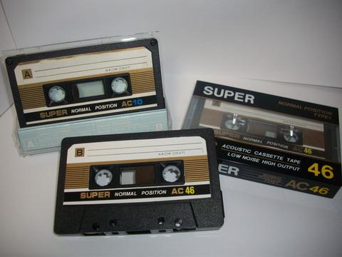 SUPER_AC_カセットテープ
