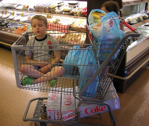 kid-asleep-in-cart