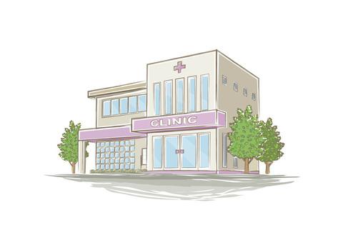 手書き風病院