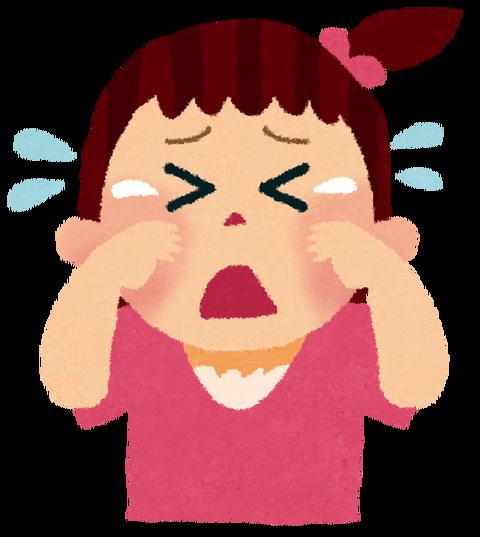 泣き顔イラスト