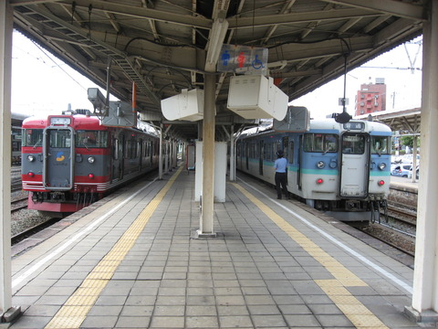 小諸駅ホーム (1)
