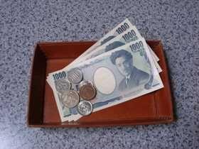 bandeja de dinheiro
