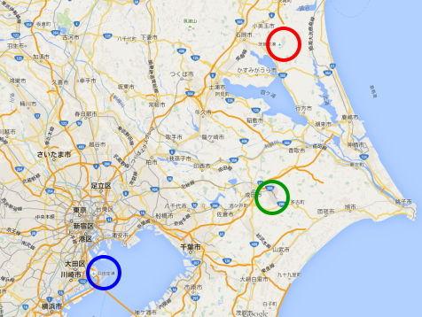 羽田・成田・茨城空港