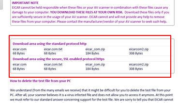 参考】Eicarによるテストウイルス : 情報処理安全確保支援士