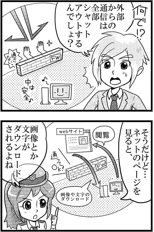 「パソコンが乗っ取られる」2