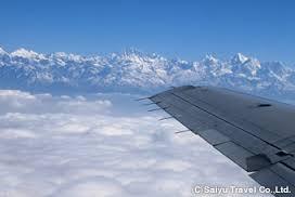 ネパール飛行機