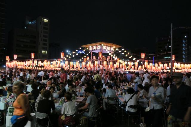 築地本願寺盆踊り (9)