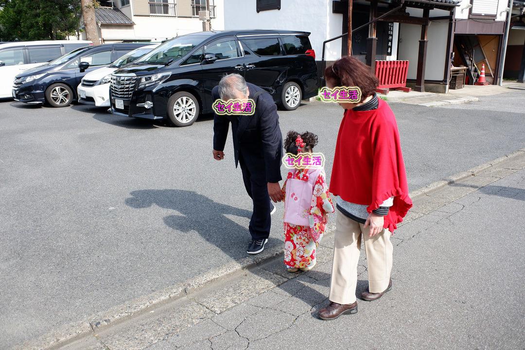 亀戸天神で七五三 (8)