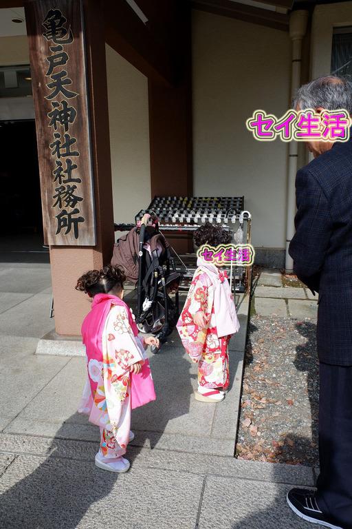 亀戸天神で七五三 (11)