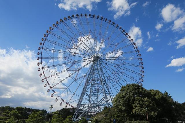 葛西臨海公園でテント (1)