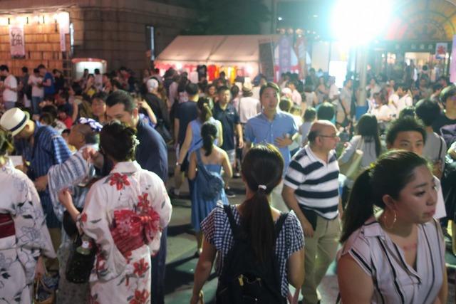 築地本願寺盆踊り (5)