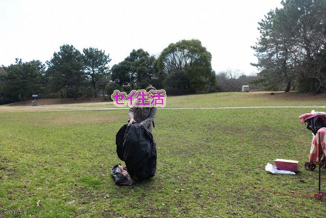 葛西臨海公園でテント (4)