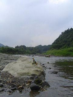 スロライ君と名取川